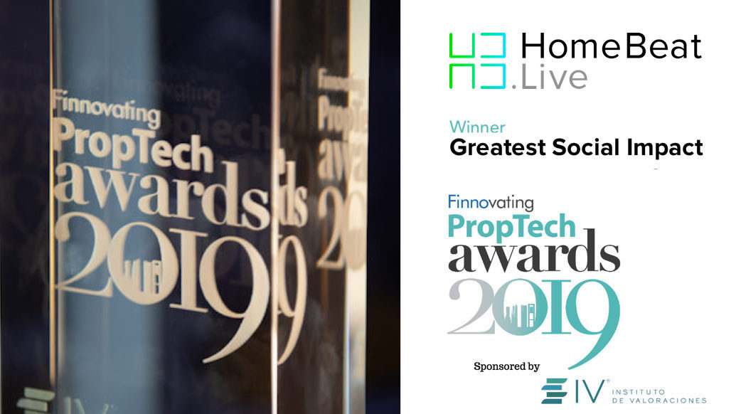 HomeBeat.Live wins Greatest Social Impact PropTech Award